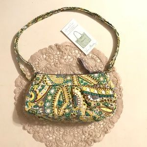 Vera Bradley Small Green  Shoulder Bag